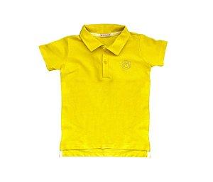 Gola Polo amarela  infantil com muito conforto e estilo para os pequenos.