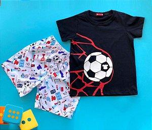 Conjunto Infantil Básico Futebol