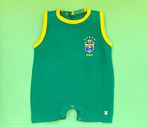 Francês Malha Cotton Brasil Cor Verde
