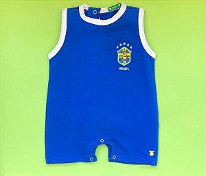 Francês Malha Cotton Brasil Cor Azul