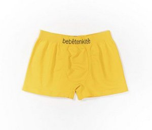 Cueca Infantil Boxer Micro Fibra amarelo