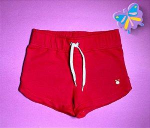 Short Boxer Moleton Vermelho