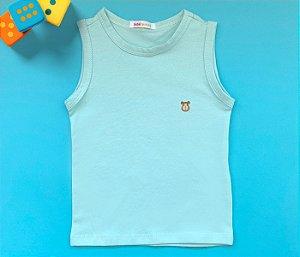 Camiseta Infantil  Cotton Cor Verde Claro
