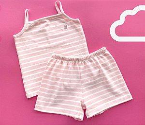 Pijama Feminino Listras