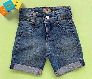 Bermuda Infantil Jeans Claro