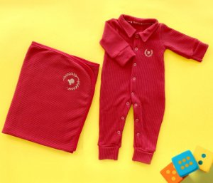 Kit Maternidade Vermelho