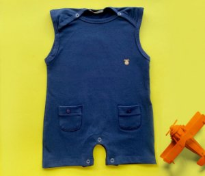 Francês Bebê Azul Marinho