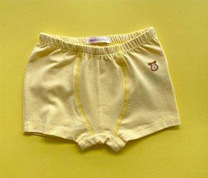 Cueca Cotton Amarelo