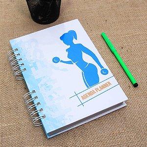 Agenda Planner Personalizada Fitness | Personalize a Capa e Mês de Início |Ver Descrição | M62