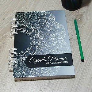 Agenda Planner Personalizada Mandala | Personalize a Capa e Mês de Início |Ver Descrição | M84