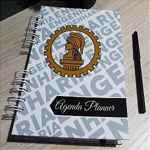 Agenda Planner Personalizada Engenheiro | Personalize a Capa e Mês de Início |Ver Descrição | M87
