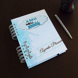 Agenda Planner Personalizada | Dia dos Pais | Personalize a Capa e Mês de Início |Ver Descrição | R03