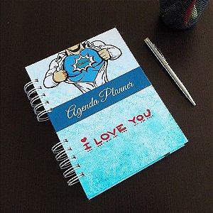 Agenda Planner Personalizada | Dia dos Pais | Personalize a Capa e Mês de Início |Ver Descrição | R05