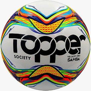 Bola De Society Topper Velocity Pró Samba 2020 Fed. Paulista
