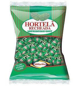 Bala  Hortelã Recheada 600g -  Santa Rita