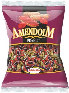 Bala Amendoim 600g -  Santa Rita