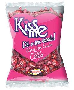 Bala Kiss Me Cereja 600g -  Santa Rita
