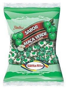 Bala Mastigável Maçã Verde 600g -  Santa Rita