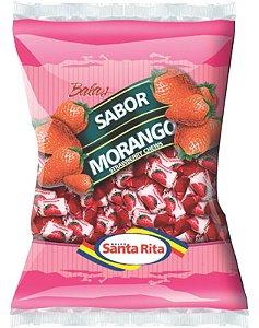 Bala Santa Rita Mastigável Morango 600g