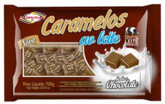 Caramelo ao Leite - Chocolate 700g -  Santa Rita