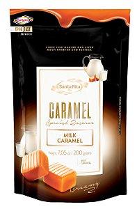 Caramelo Santa Rita - Milk 200g -  Santa Rita