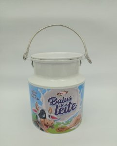 Lata Decorativa -  Modelo Leiteira 1000ml -  Santa Rita
