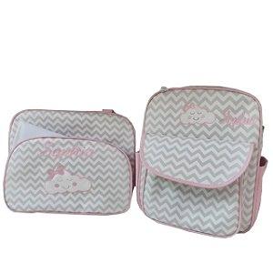 Bolsa de passeio + mochila personalizada