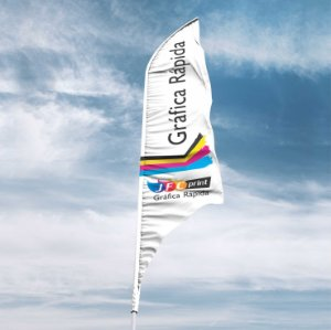 Tecido Wind flag