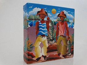 Quadro do pintor Josinaldo - Pescadores