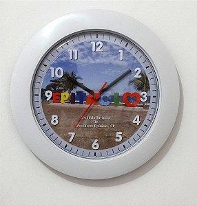 Relógio de Parede Maior - Letreiro Epitácio
