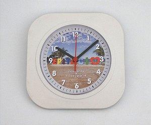 Relógio de Parede Quadrado - Letreiro Epitácio