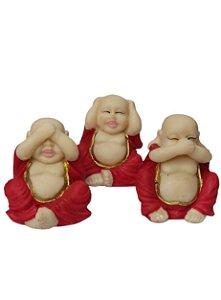 Buda Cego , Surdo e Mudo vermelho