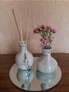 Kit Difusor de Aromas Porcelana - 2 peças