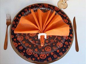 Capa para Sousplat Halloween - Abóbora