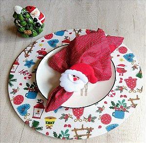 Capa para Sousplat Natal - Fofura