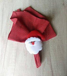 Porta Guardanapo Papai Noel