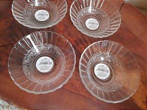Bowl de vidro para sobremesa - Unidade