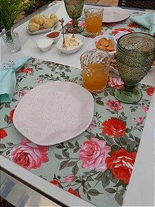 Lugar Americano Floral