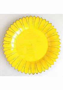 Sousplat Flor em Plástico Rígido