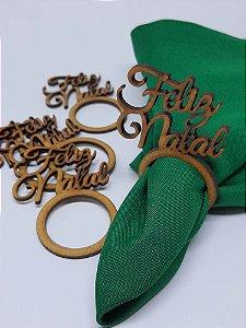 Porta Guardanapo Feliz Natal em MDF