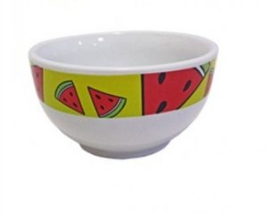 Tigela Cerâmica Frutas - Melância