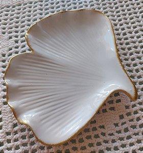 Folha Decorativa Cerâmica