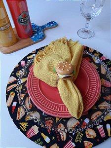 Capa para Sousplat Fast Food