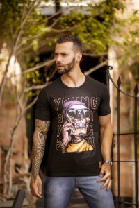 CAMISETA CAVEIRA YOUNG