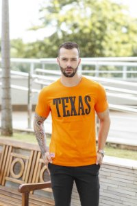 CAMISETA BORDADO TEXAS