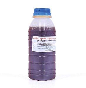 Adubo Líquido Orgânico Concentrado (Biofertilizante Chorume) 300 ML / 500 ML