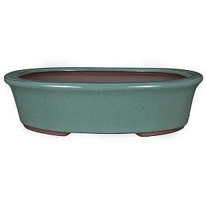 Vaso Oval Esmaltado Literato 25 X 19 X 6,5 cm