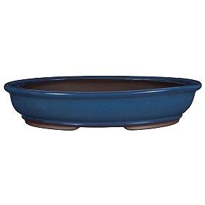 Vaso Oval Esmaltado Literato 31 X 23 X 6 cm