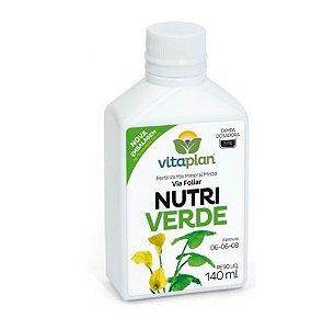Adubo Foliar Completo e Concentrado Nutriverde 06-06-08 140 ml - Rende 28 litros