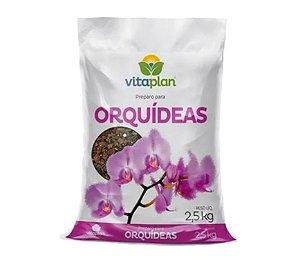 Substrato Pronto Uso Para Orquídeas Vitaplan 1 kg